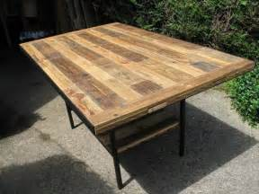 Diy industrial dining table plans plans free