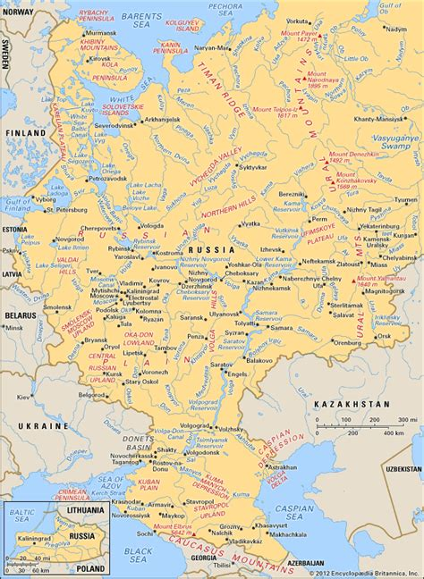 map of russia with cities names russia geography history map facts britannica