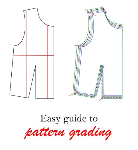 pattern grading courses online easy guide to pattern grading on craftsy