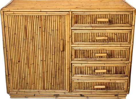 Commode En Bambou by Commode En Bambou Vintage 1960 Design Market