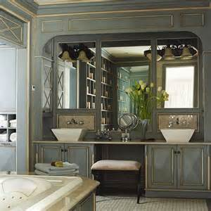 Bathroom Vanities With Double Sinks get the look double bathroom sink vanities artisan