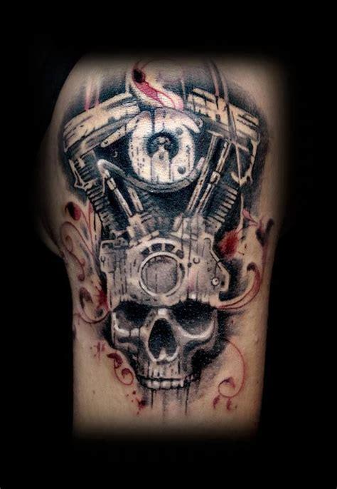 harley davidson skull tattoos harley skull tattoos apeldoorn sin66