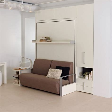 space saving queen bed the ito is a self standing queen size wall bed system