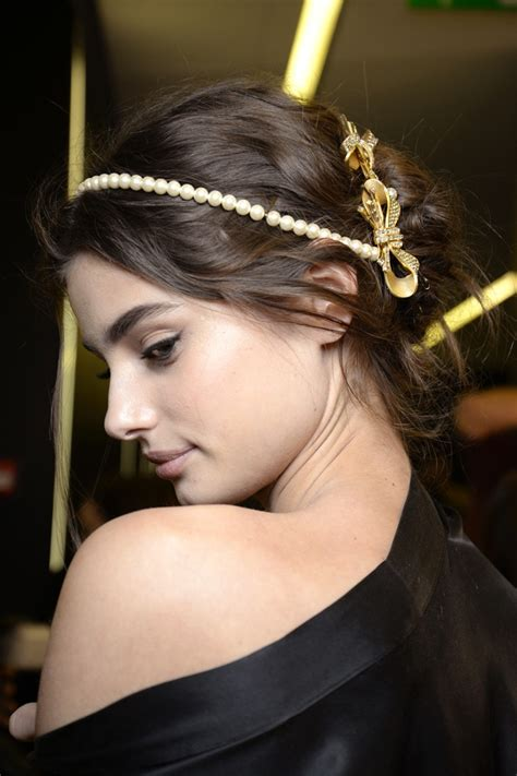 fall look 2015 dolce gabbana beauty dolce gabbana does red lips elegant updos for fall 15