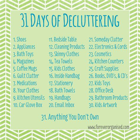 decluttered meaning the next stage old sayings and more on the decluttering