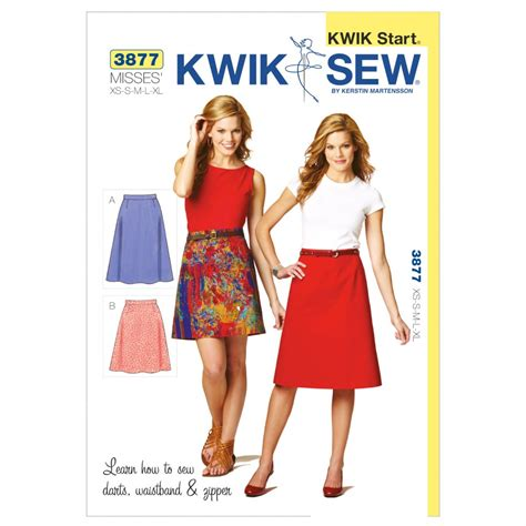 products archive make sewing patterns kwik sew ladies easy learn to sew sewing pattern 3877 a