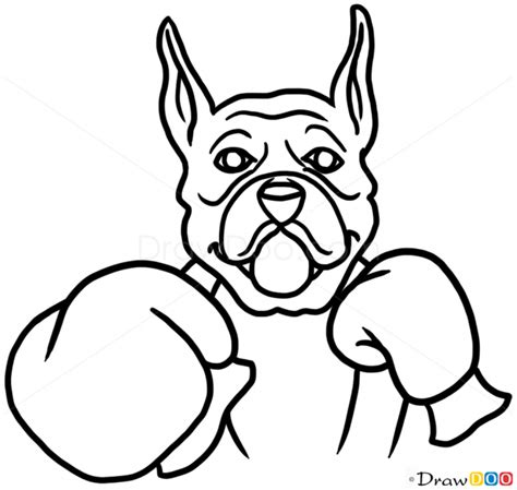 how to draw dogs and puppies how to draw boxer dogs and puppies