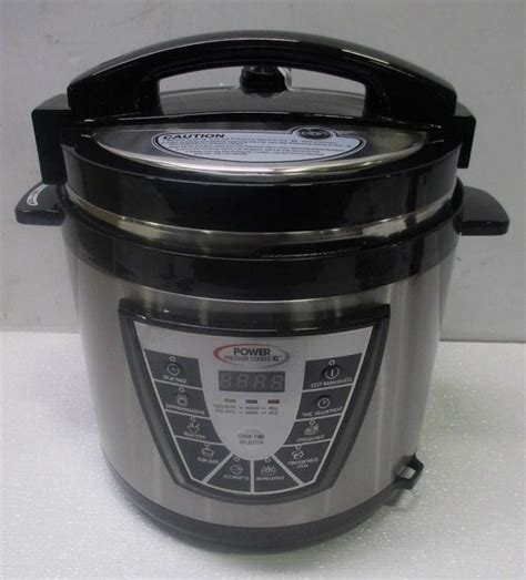 the complete power pressure cooker power ppc780 pressure cooker xl 8 qt digital with glass