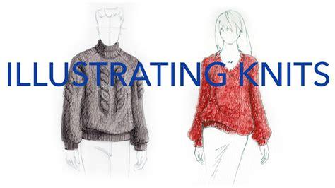zoe hong fashion illustration fashion illustration tutorial knits