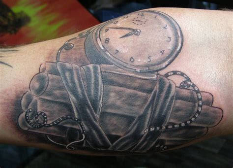 time bomb tattoo time bomb 3 hours on forearm www