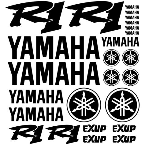 Yamaha 3d Sticker by Stickers Yamaha R1 Pas Cher