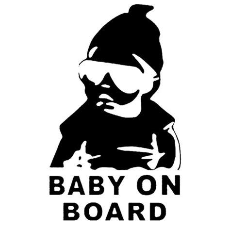 Auto Sticker Baby by Sticker Auto Baby On Board B 233 B 233 224 Bord Pas Cher
