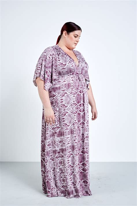 Caftan Dress by Pally Caftan Dress Viper Currant Coverstory