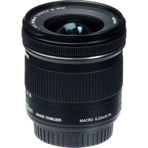 Canon Ef S 10 18mm Is Stm Lensa Kamera canon ef s 10 18mm f 4 5 5 6 is stm lens filters exchange photography accessories
