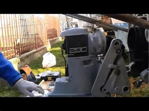 volvo penta  stern drive removal youtube