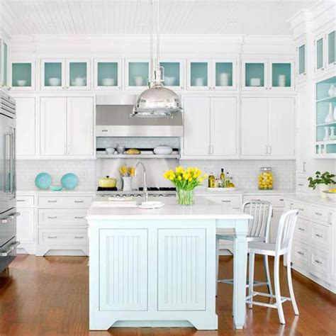 Coastal Kitchen Cabinets | traditional coastal style kitchen design inspiration