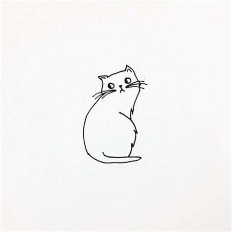 cat simple best 25 cat drawing ideas on