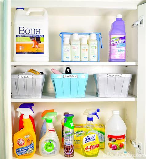 Under The Bathroom Sink Storage Ideas como organizar produtos de limpeza casinha arrumada