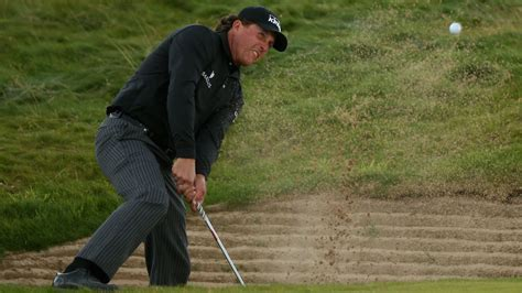 golf spelled backwards did phil mickelson have an affair phil mickelson works on backwards lob wedge during british