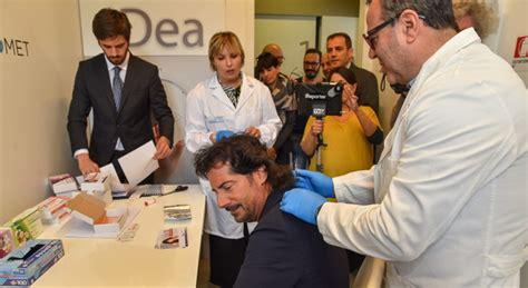 test antidroga capello test antidroga ai candidati il sindaco uscente non fa