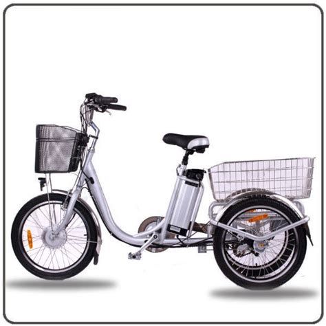 E Bike 3 Rad by Ce Approved 36v 250w White Electric Tricycles Lithium