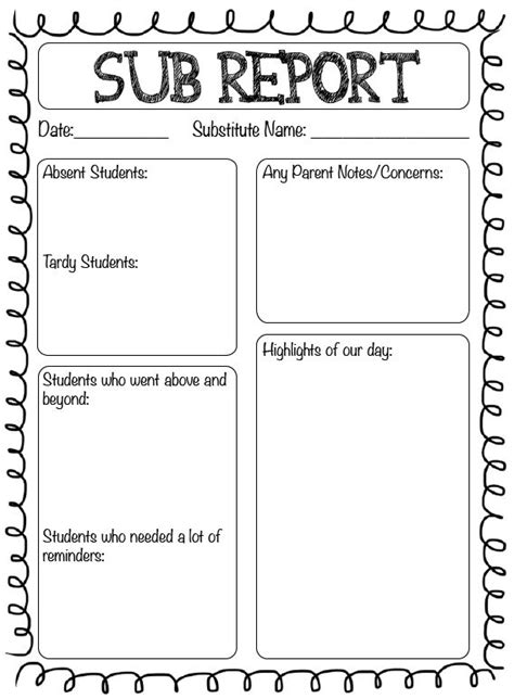 25 best ideas about substitute forms on substitute folder substitute