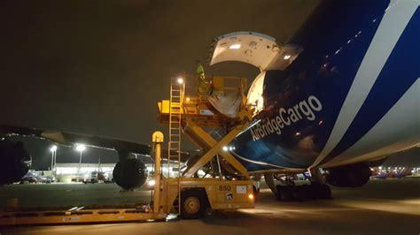 cargo charter activity booms  st louis lambert