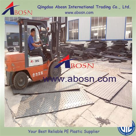 Mud Mats For Heavy Equipment by Heavy Equipment Mud Mats Hdpe Crawler Road Mats Construction Matting And Temporary Roads Mat