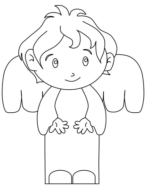 angel coloring pages for preschool angel coloring pages for children az coloring pages
