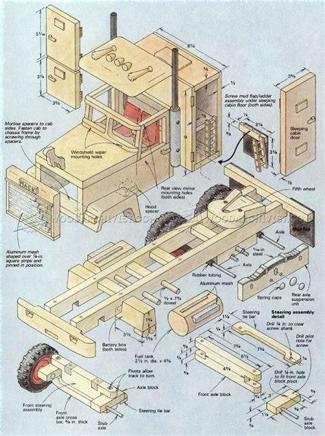 wooden truck plans wooden toy plans planos de madeira