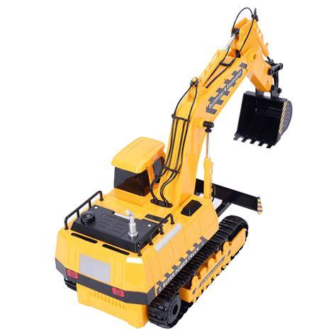 Remote Buldozer Remote Construction Bulldozer Truk 1 18 5ch remote rc excavator construction