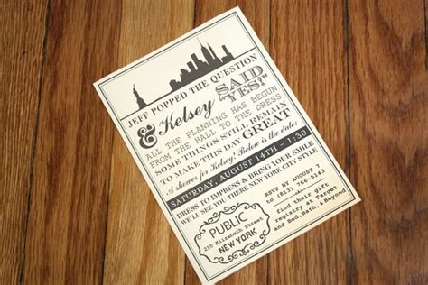 Fabulous New York Themed Ideas!   B. Lovely Events