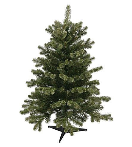 noma lites gold spruce christmas tree 3ft selfridges com