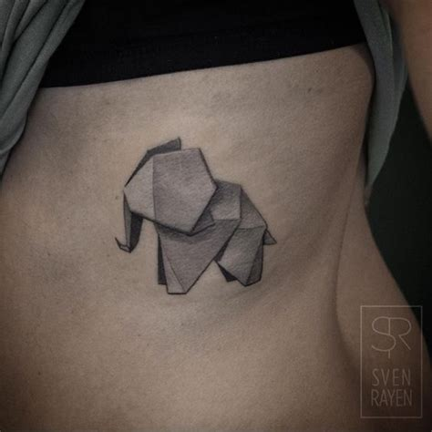 30 astonishing origami tattoo designs amazing tattoo ideas