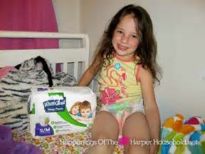 Pampers size 7 bedwetting bed wetting issues give white cloud sleep