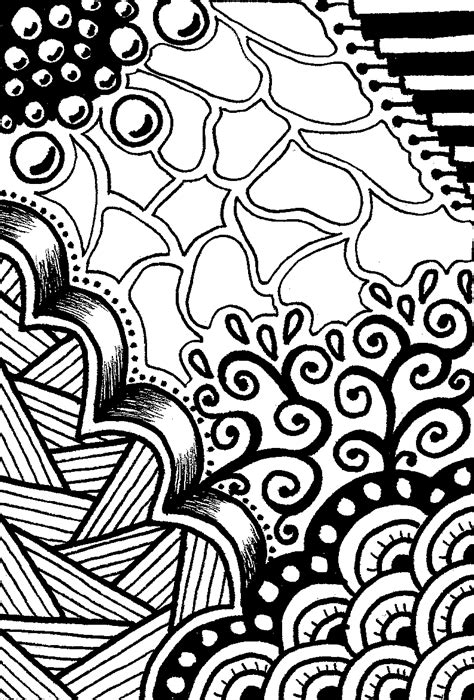 doodle patterns for colouring creative crafting how to zen doodle