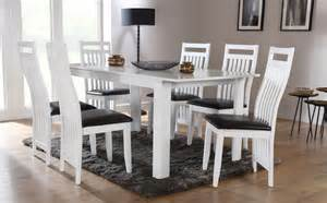 White Extending Dining Table And Chairs Aspen White Extending Dining Table And 6 Chairs Set Java Only 163 399 99 Furniture Choice