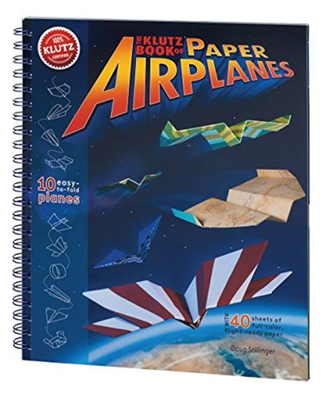 klutz book of paper airplanes craft kit import it all