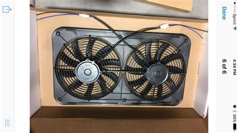 electric fan upgrade on 3 performance 1500 2500 dual 12 electric fan upgrade