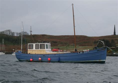 fishing boat uk sale for sale scottish fishing boat wooden motor yacht