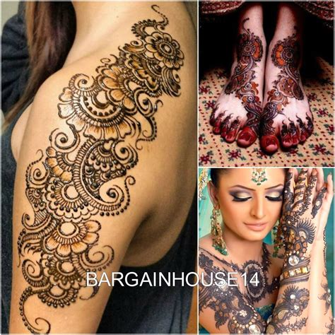henna tattoo color 3 x fast black color henna mehndi cones