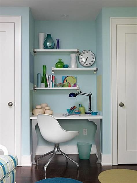 Home Office Ideas In Small Spaces Small Home Office Design