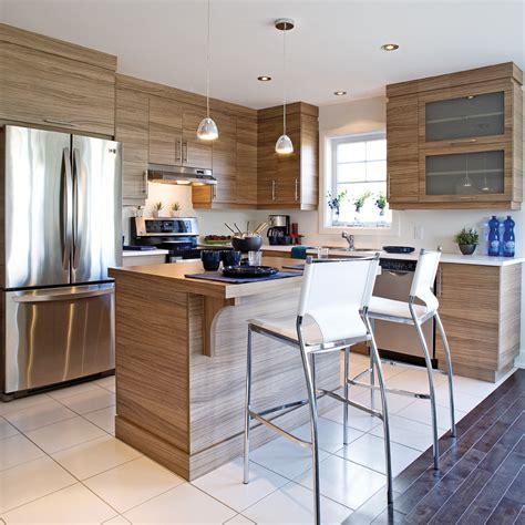 r駭ovation d armoires de cuisine des armoires de m 233 lamine comme du bois cuisine