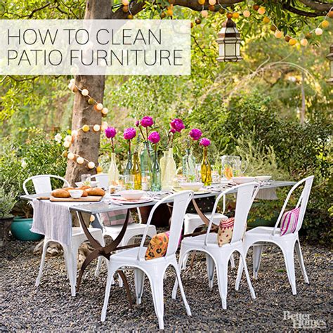 How To Clean Outdoor Patio Furniture How To Clean Outdoor Furniture