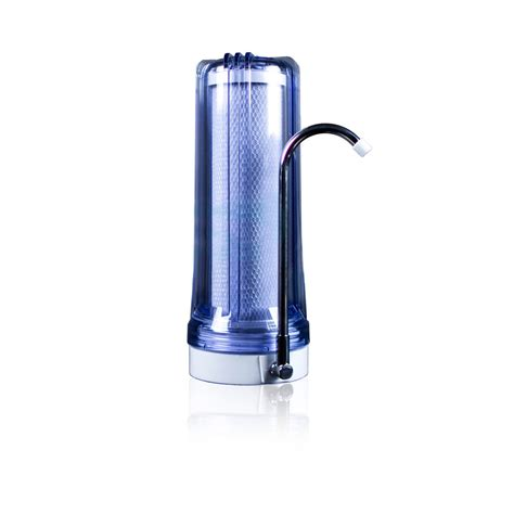1 stage countertop filter clear water filter