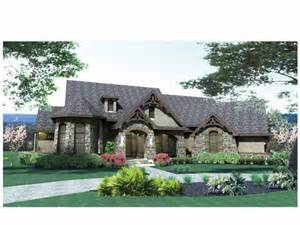 French Country European House Plans by French Country House Plan With 2595 Square Feet And 3