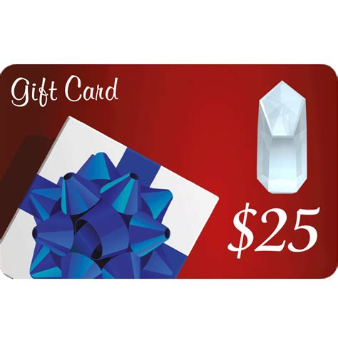 25 Gift Card - 25 gift card arkansas crystal works