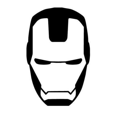 iron man face mask template ironman mask decal ironman yeti cup decal ironman by