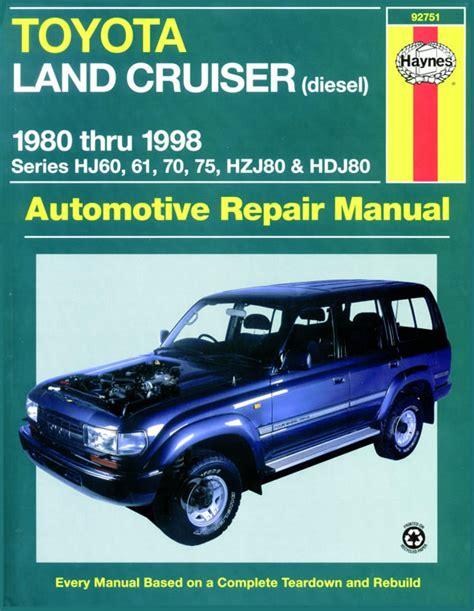 online car repair manuals free 1996 toyota land cruiser security system toyota land cruiser diesel 80 98 australian