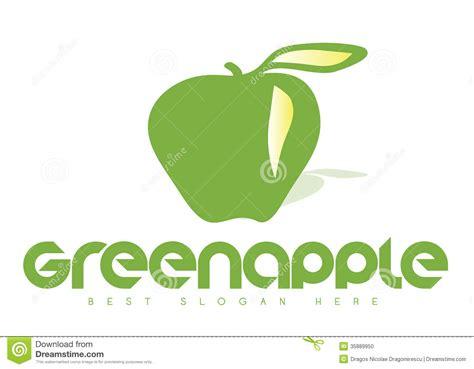 apple logo biography green apple logo stock photo image 35889950